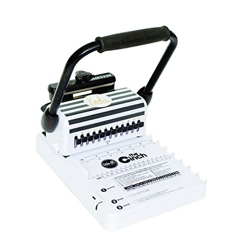 Heidi Swapp Cinch Book Binding Machine by We R Memory Keepers | Black and White from American Crafts