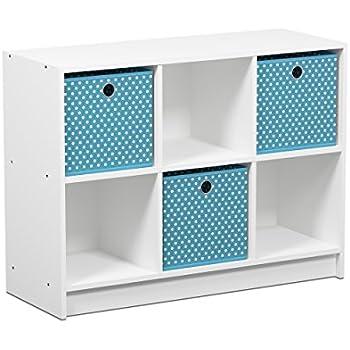 orion 9 cube storage shelves white home kitchen. Black Bedroom Furniture Sets. Home Design Ideas