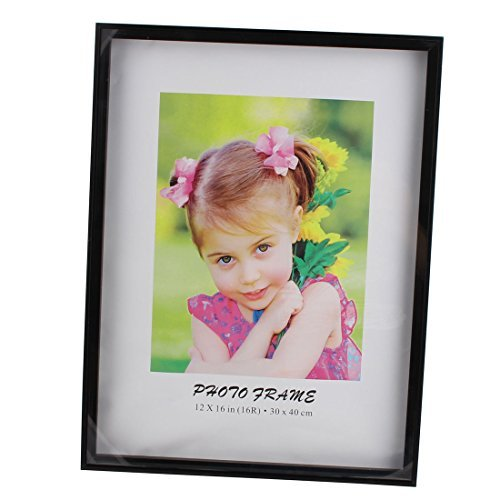 EbuyChX Office Desk Photo Frame Wall Ornament Christmas Present 16 x 12 Pulgada Black -
