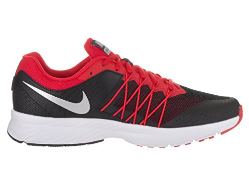 Nike Hommes Air Implacable 6 Chaussure De Course Noir / Rouge