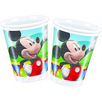 Amscan 180ml Mickey Mouse 10-Plastic Cups]()