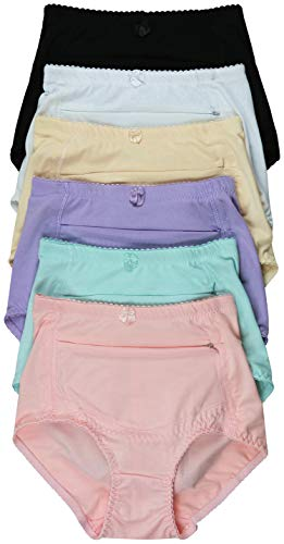 (ToBeInStyle Women's Highwaisted Front Pocket Girdle - Plain - XL)