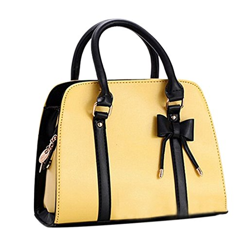 Qianle Leather Messenger Shoulder Handbag product image