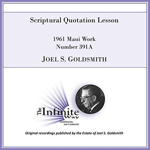 (Scriptural Quotation Lesson (1961 Maui Work, Number 391a) [Live])