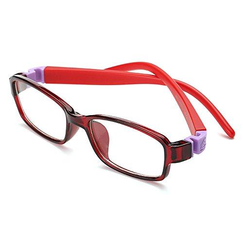 c1 Fantia Trendy Fashion Square Children Flat Glasses Kids Eyeglasses Frame