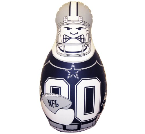 (NFL Dallas Cowboys 40-Inch Inflatable Tackle Buddy)