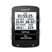 Garmin Edge 520 GPS Bike Computer Without Heart Rate Monitor, Black, 7.3cm x 4.9cm x 2.1cm