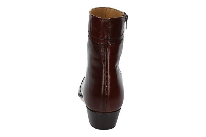 ab3555d8e80 MOYA 50 Botines TACÓN Cubano Hombre Botas-Botines: Amazon.es: Zapatos y  complementos