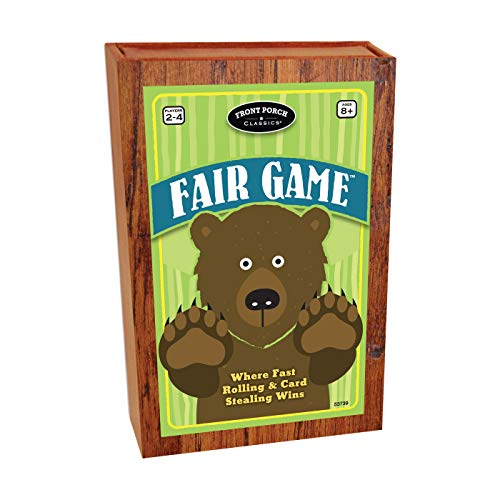 Front Porch Classics Fair Game Dice Stealing Game (Porch Front Classics)
