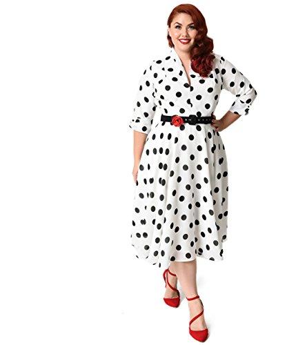40s shirt dress - 2