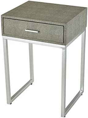 Sterling Home Les R voires Side accent table, Gray