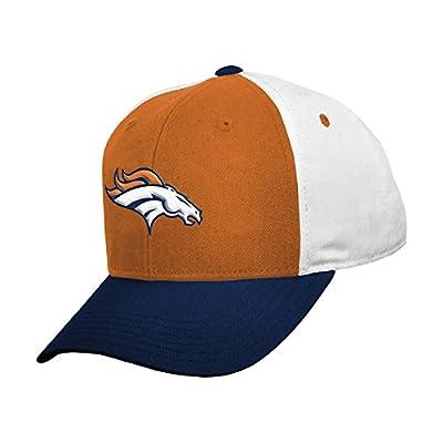 Denver Broncos Orange White Toddler Primary Logo Color Block Adjustable Hat