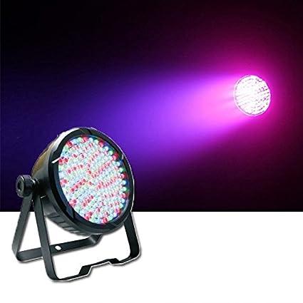 DragonX 177 LEDs Par DJ Strobe Black Light- UV Blacklight Wash Stage Lighting – DMX 512 controlled Stage Wash Spotlight Flood DJ-Lighting.Par-UV