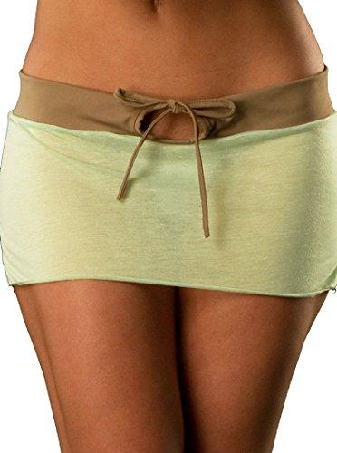 Wicked Temptations Jersey Knit Keyhole Mini Skirt