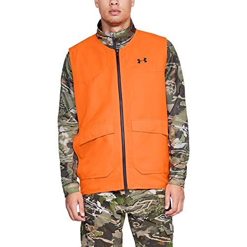 Under Armour Men's Hunt Blaze Vest, Blaze Orange, XX-Large