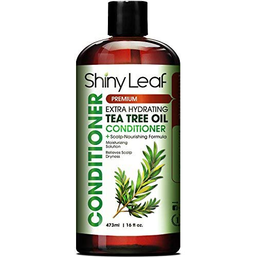Tea Tree Oil Conditioner Contains Essential Tea Tree Oil, Anti-Dandruff, For Irritated, Itchy, And Dry Scalp, Moisturizes And Conditions Hair, 16 Fl.