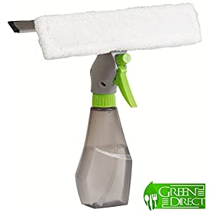 Green Direct New and improved Magic Window Cleaner Spray Tool For your Indoor and Outdoor Window / Glass Cleaning And Car Window Cleaner [No Assemble Needed]