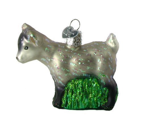 Old World Christmas Pygmy Goat Ornament by Old World ()