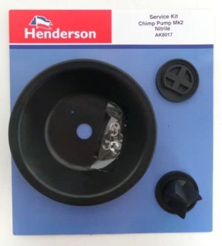 Henderson Chimp Mk 2 Water Transfer Pump Service Kit