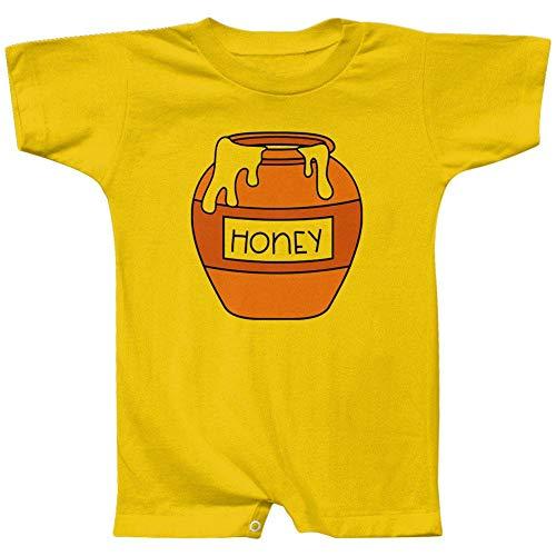 Old Glory Halloween Honey Pot Honeypot Costume Baby Romper Yellow 9-12 M]()