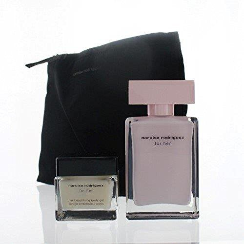 Narciso Rodriguez Gift Set 1.6 Oz Edp Spray 1.3 Oz Beautifying Body Gel For Women