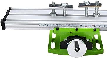 Multifunción Fresado de trabajo o Mesa Fresadora ligero de perforación/mesa de coordenadas, Superficie de trabajo de 310x90mm: Amazon.es: Bricolaje y herramientas