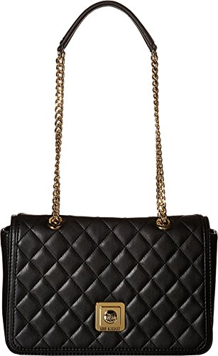 love-moschino-womens-i-love-superquilted-flap-bag-black-cross-body