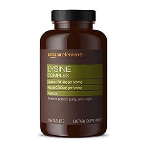 bottle containing best lysine complex immune health capsules
