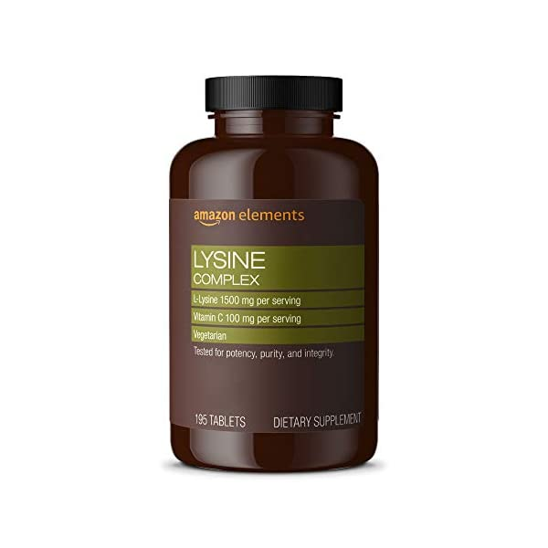 bottle containing best lysine complex immune health capsules