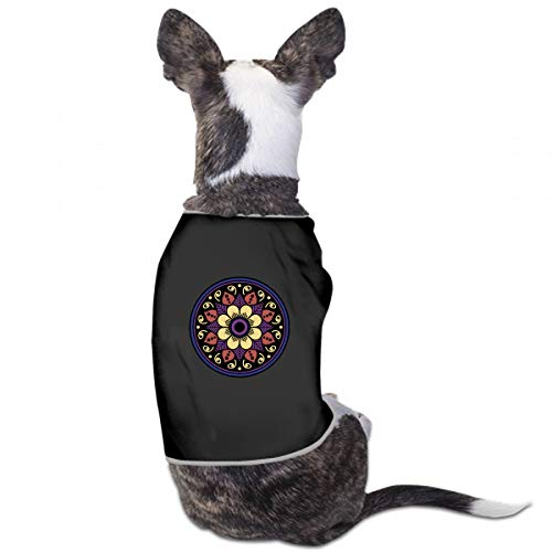 XUGGL Cute Dog Pajamas Ethnic Mandala Ornament Islam