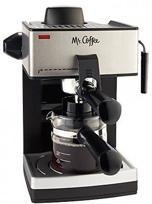 Espresso Machine Maker Cappuccino Coffee Latte Automatic Steam Steel Pump