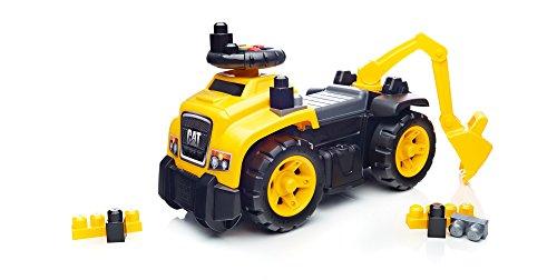 41NUrxd8ijL - Mega Bloks Ride On Caterpillar with Excavator