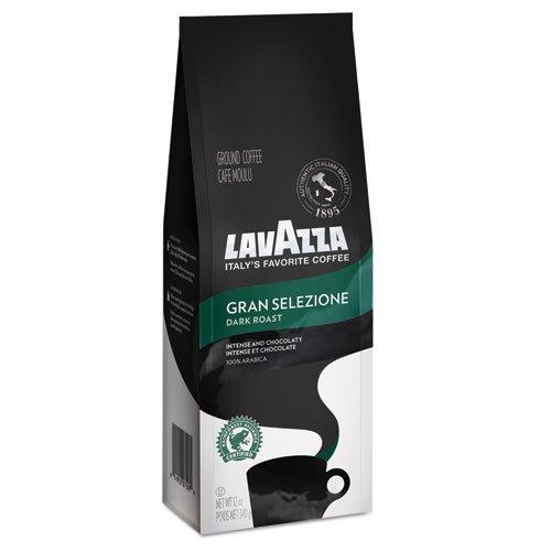 Lavazza 7512 Gran Selezione Dark Roast Ground Coffee, 12 Oz (Lavazza Dark Roast Coffee)