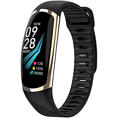 NFGGLM Smart Bracelet Fitness Tracker Heart Rate Sleep Monitor Sport Smart Band Blood Pressure Wristband Estimated Price £33.71 -