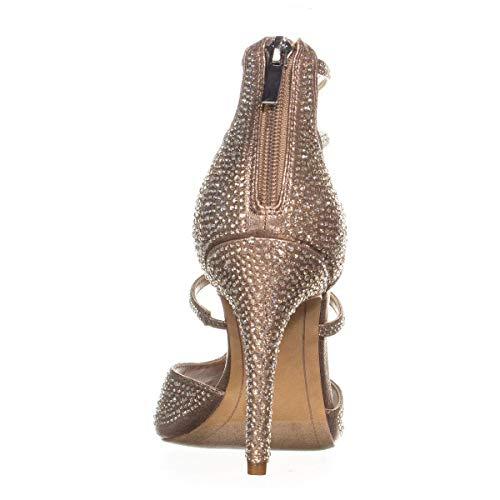 International Knoechel Zeh INC Riemen Frauen Offener Bronze Besonderer Concepts Soft Sandalen Anlass 40xqdIa