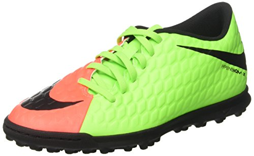 Green hyper volt Phade Chaussures de Homme Orange Electric TF Black NIKE Football Vert Hypervenomx III q4FvTv