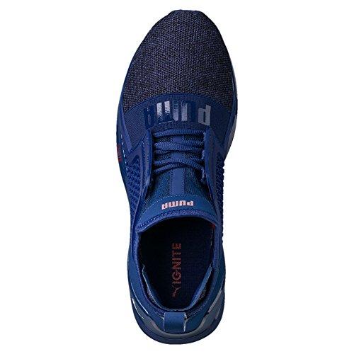 Puma Ignite Limitless Knit, Scape per Sport Outdoor Uomo Blue Depths-Toreador
