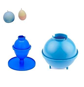 """Proops – Juego de 2 moldes para velas, 3 """"de diámetro esfera redonda"""