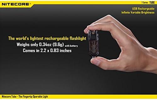 Anecity Running Lampe DEL poitrine rechargeable usb noir étanche