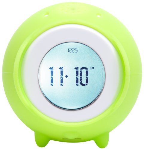 Nanda Home Tocky Runaway Alarm Clock with MP3 - Kiwi