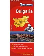 Bulgaria Road Map 1:700T MH739