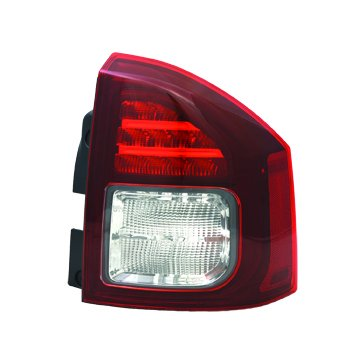 TYC 11-6447-90-1 Jeep Compass Right Replacement Tail Lamp (Jeep Compass Bulb)