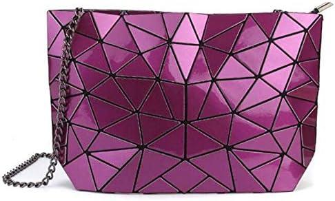 Bao Hologram Bolso de Mano para Mujer, diseño de láser