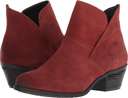 Me Too Women's Zena Rust Oiled Velvet Split Suede 9 M US (Suede Oiled Boots)