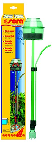 sera 08550 Staubsauger - entfernt ohne Wasserwechsel sorgfältig Mulm und Schmutz aus dem Bodengrund