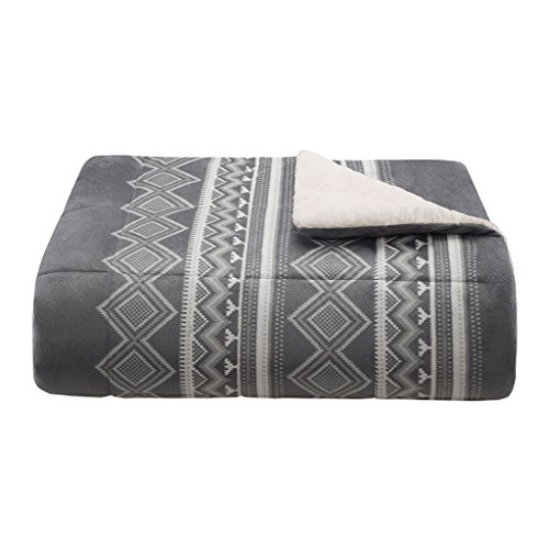 Woolrich Anderson 200GSM Mink Down Alternative Filled Throw Blanket, 50