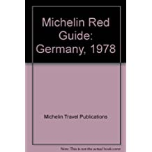 Michelin Red Guide: Germany, 1978