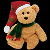 Ty Jingles Beanies 2003 Holiday Teddy - Bear
