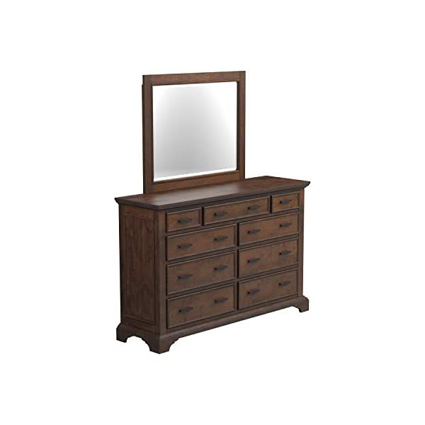 Coaster Home Furnishings Elk Grove 9-Drawer Dresser with Jewelry Tray Vintage Bourbon