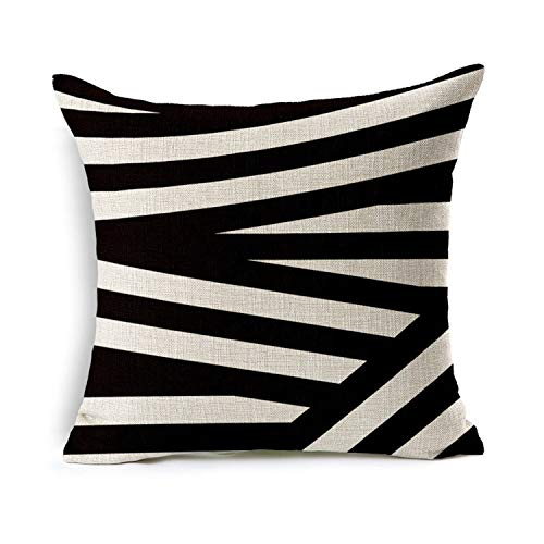 Line Pillow Cover Stock 45 45cm Simple and Modern Simple Back Rest Lazyback Pillowcase Decorative Bedding,Pillow Cover 5,45x45cm